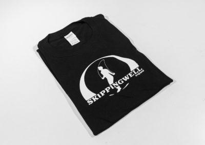 Skippingwell Skipping, black tee shirt